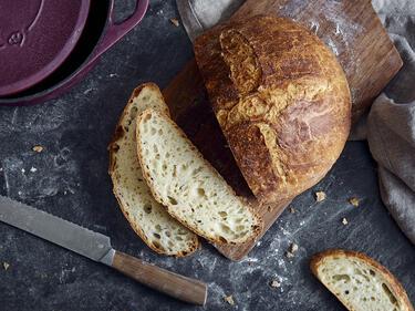 Brot backen - Knuspriger Brotlaib