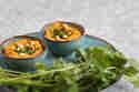 Hummus mit ofengerösteten Möhren und Koriander © Sabrina Kiefer & Steffen Jost | Feed me up before you go-go