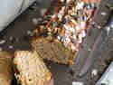 Süßkartoffelkuchen mit Mandeln und Kokos
