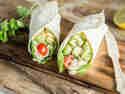 Wraps mit Thunfisch-Avocado-Creme